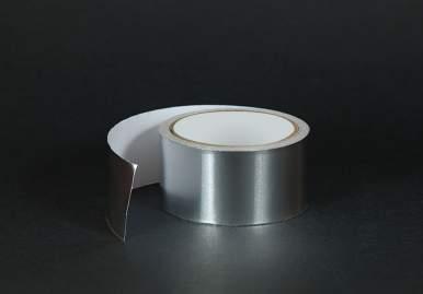 Алюминиевый термостойкий скотч